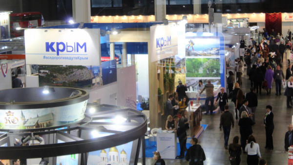 Санаторно-курортный и туристический потенциал Крыма презентован на крупнейшей международной выставке в Москве