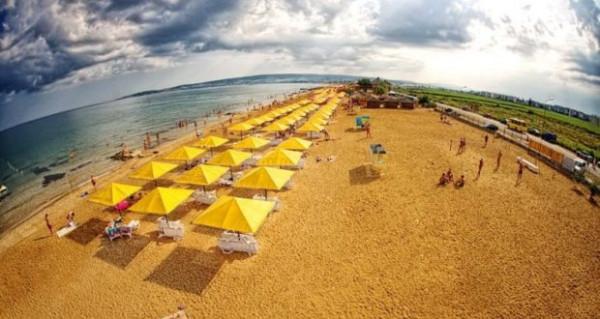 Пляжи Крыма - в тройке лучших в России