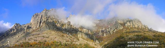 Гора Демерджи. Пожалуй, самая загадочная, неповторимая и удивительная из гор Крыма.