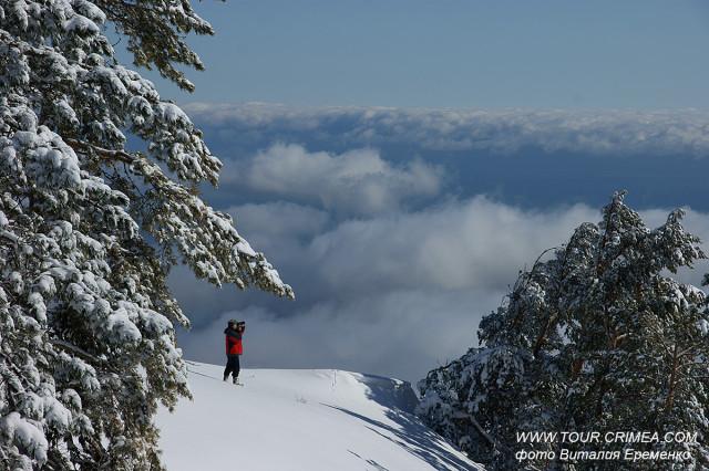 Зима в февраля 2020 г. возвращается в Крым! Всего на пару дней - увидеть снег!