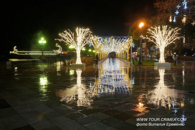 Ялта - новогодняя столица Крыма 2020 ! Фантастически красива!