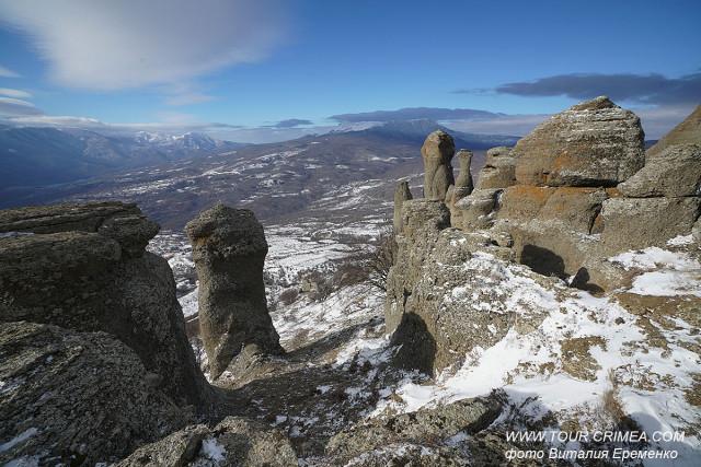 """Хочу увидеть снег!!!!! или ..""""Мороз и солнце,  день чудесный""""!  Гора Демерджи  24 января 2020г."""