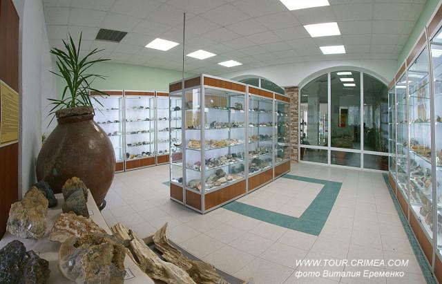 Геологический музей имение Н.И.Андрусова в Крымском Федеральном университете имени В.И.Вернадского