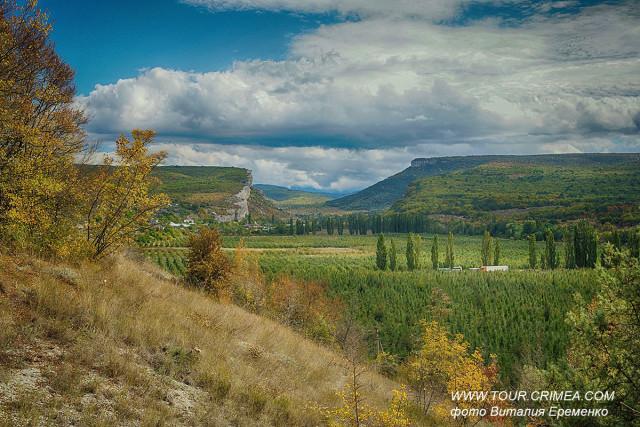 Золотая осень  в Качинской долине.
