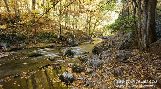 Большой каньон Крыма. Поздняя  осень.