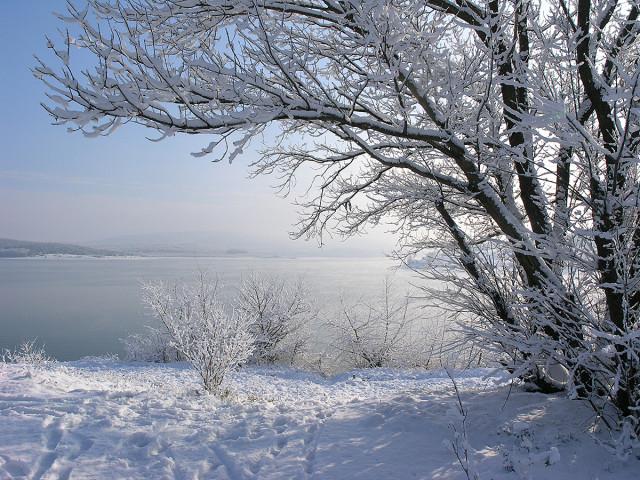 Морозный иней февраля и легкий снежок. Февраль 2020г. Любуйтесь Крымом!
