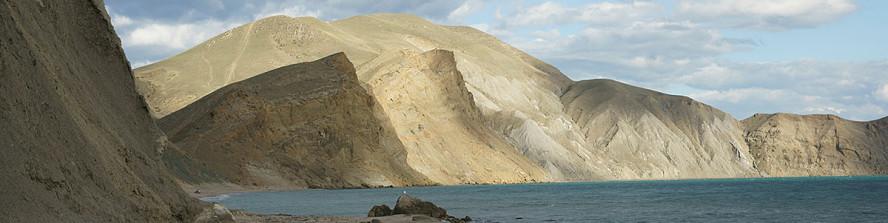 Красоты диких бухт Восточного Крыма, у п.Коктебель