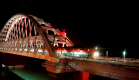 Историческое событие: первый пассажирский поезд пересек Крымский мост