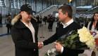 Аэропорт Симферополь встретил юбилейного пассажира