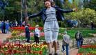 В день открытия Парада тюльпанов в Никитском ботаническом саду для художников – вход свободный!