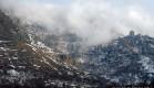Крым припорошило снегом в самом начале зимы.